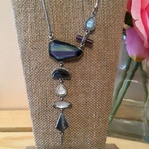 BNWOT River Stones convertible adjustable necklace